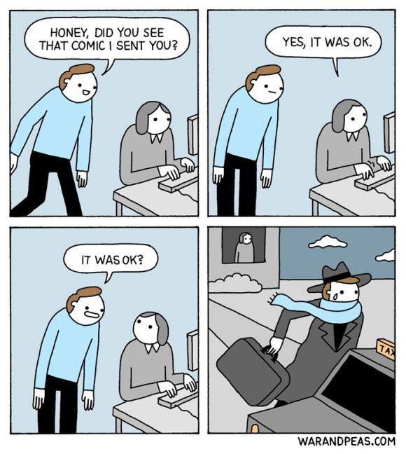 war and peas - funny comic