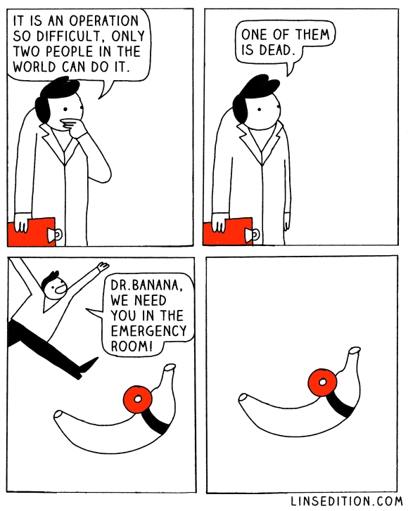 banana-comic-doctor-operation-linsedition