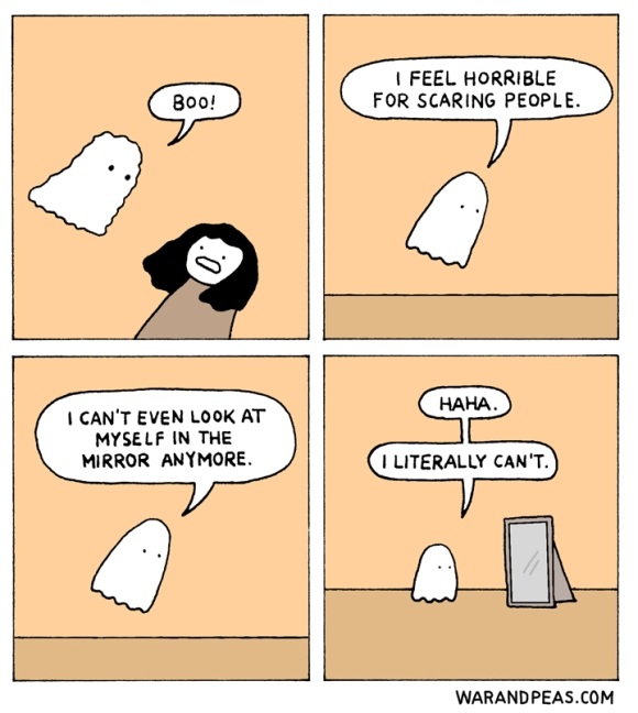 war-and-peas_literally-comic-ghost-halloween-mirror-funny-webcomic-guilt