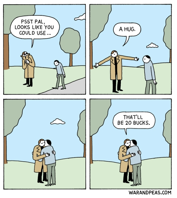 Lonely War And Peas - 20 hilarious comics that end with an unexpected twist by war and peas