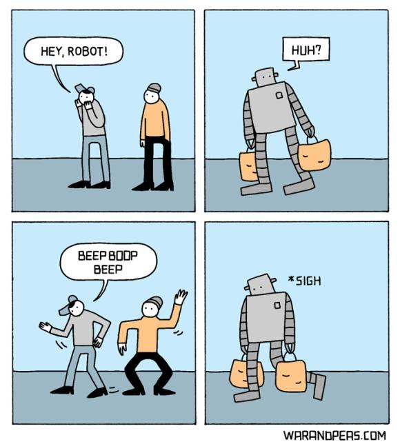 Robot War And Peas