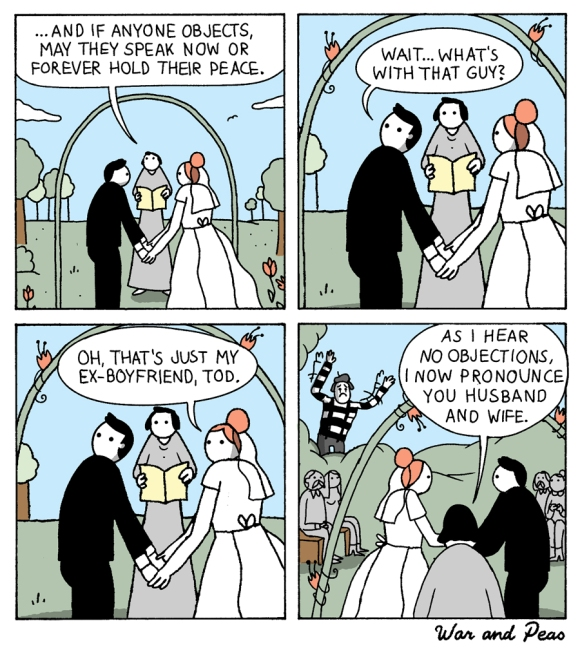 war and peas comic webcomic funny wedding