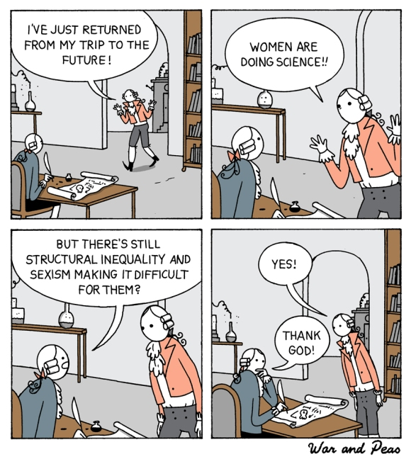 War and Peas - Women in Science - Elizabeth Pich and Jonathan Kunz