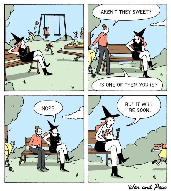 dark humor comic strips