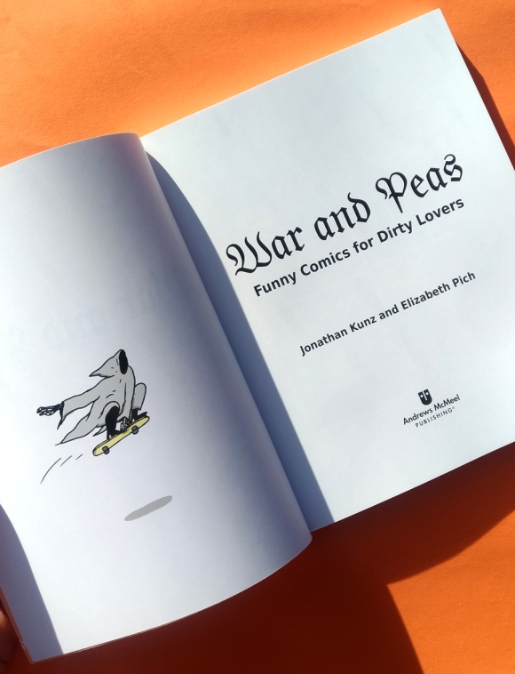 War and Peas - Book Spread - Elizabeth Pich and Jonathan Kunz