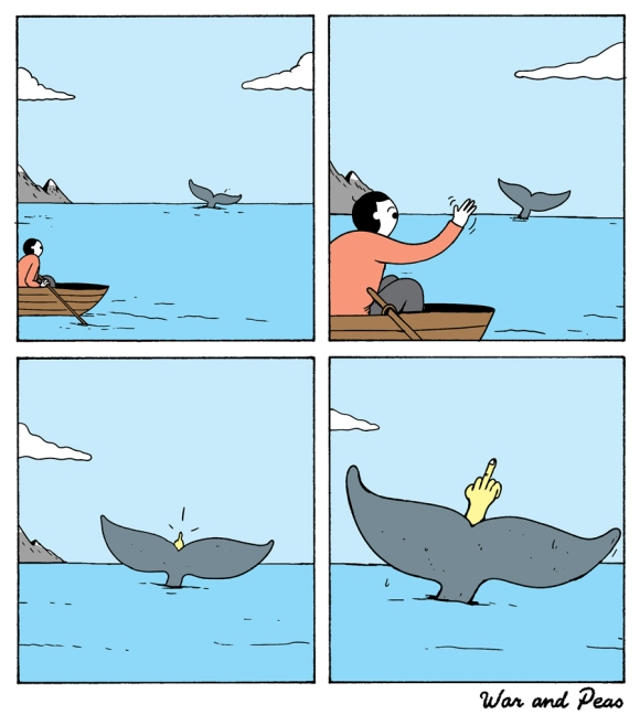 War and Peas - Whale Watching - Elizabeth Pich and Jonathan Kunz