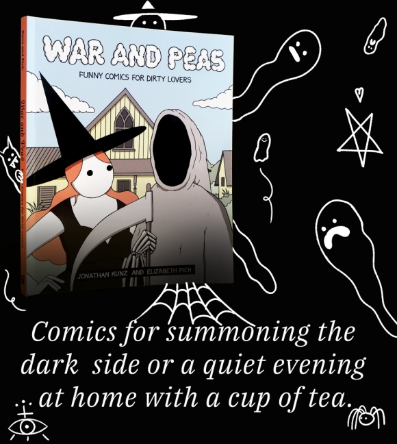 War and Peas – Spooky Book Season – Jonathan Kunz and Elizabeth Pich