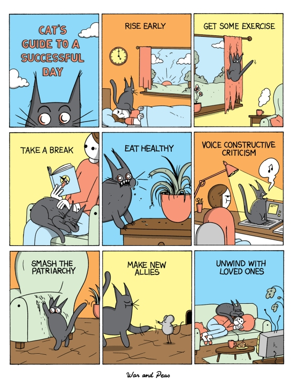 War and Peas - Cats Guide to a Successful Day - Elizabeth Pich and Jonathan Kunz